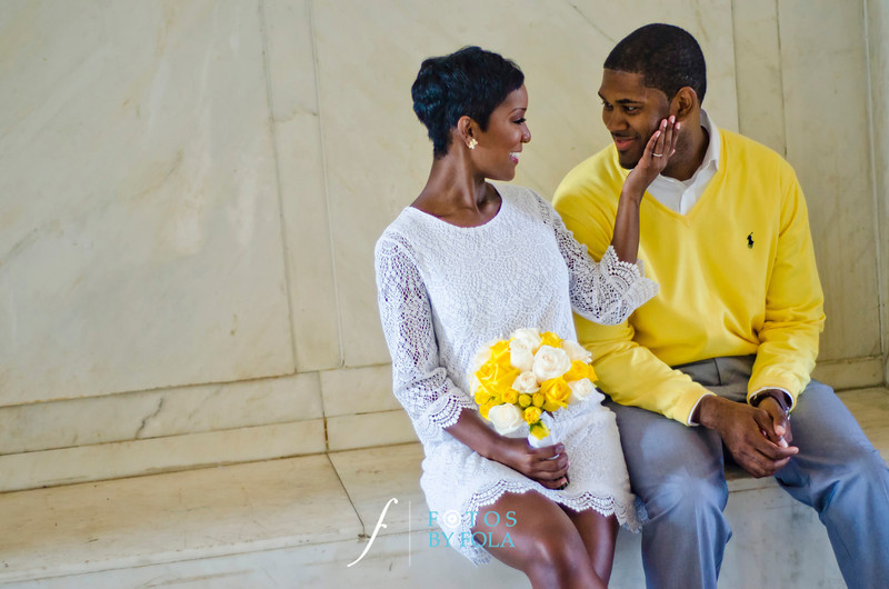 yellow decatur courthouse wedding| Fotos by Fola