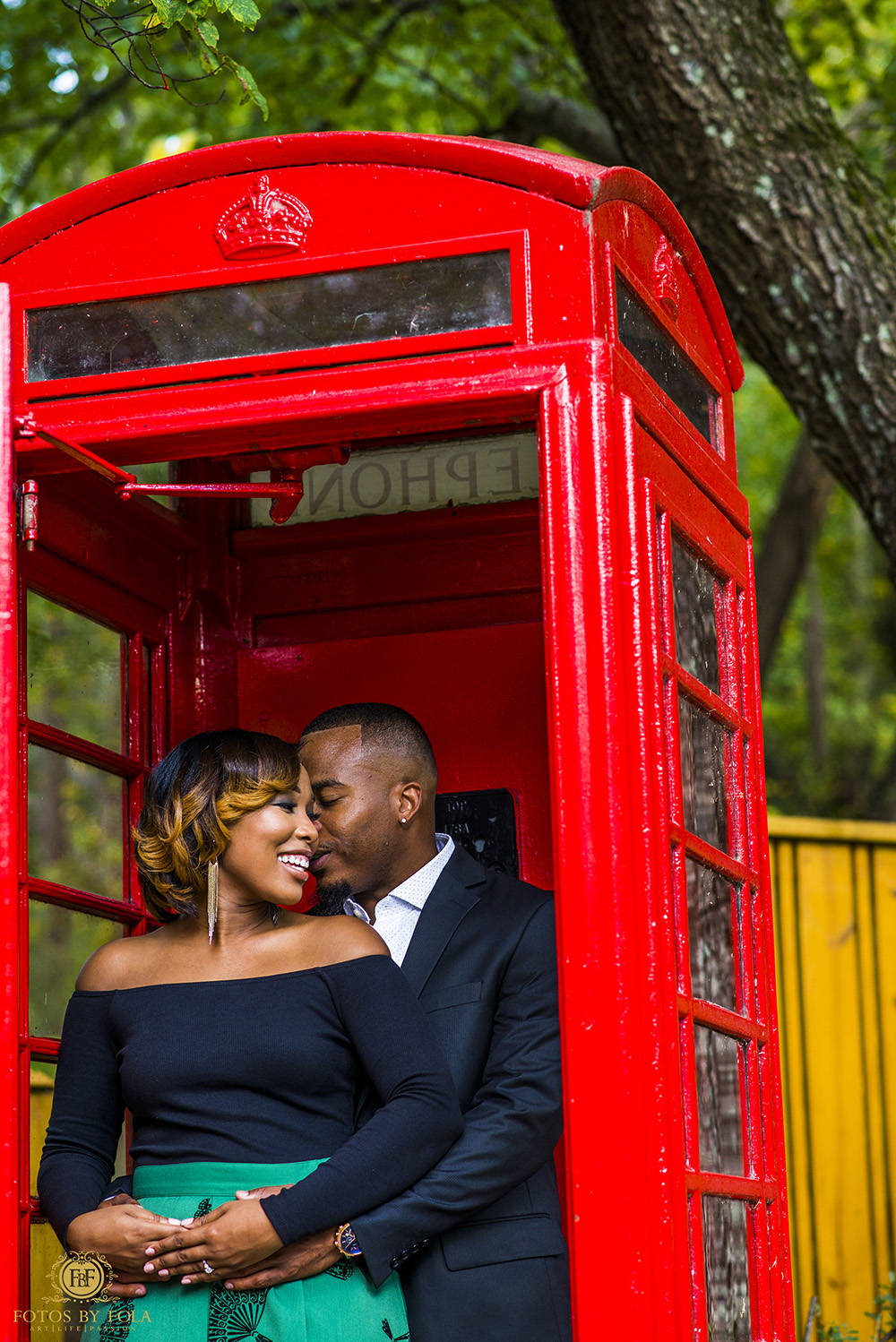 Fotos By Fola | Skyview Atlanta | Lenox Park | Atlanta Wedding Photographer | Elly B Events