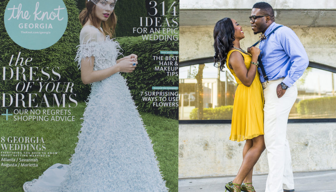 Fotos by Fola Featured in the Knot Print Magazine