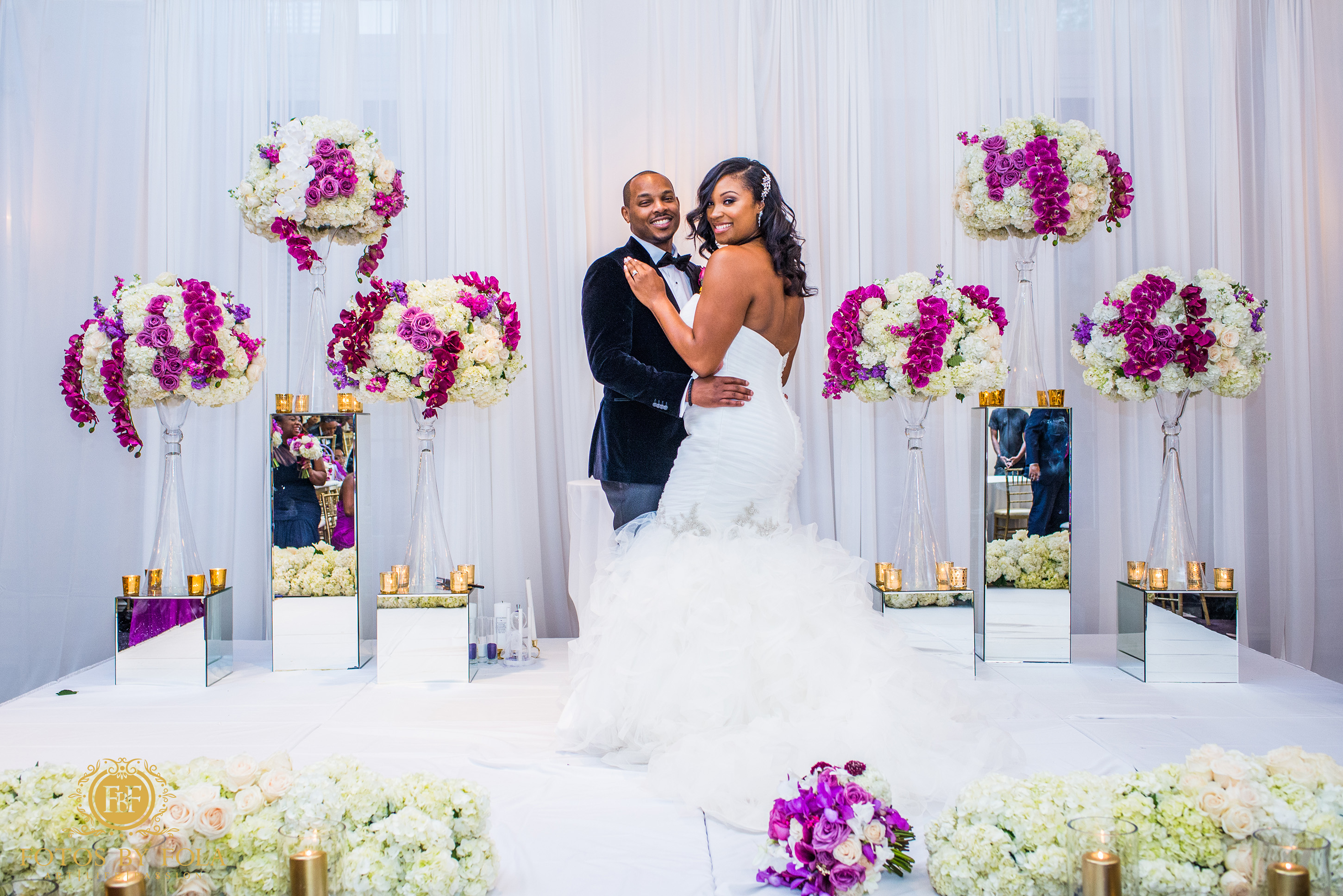 Fotos by Fola | Atlanta Wedding Photographer | Georgian Terrace Hotel Atlanta | Raven J Events