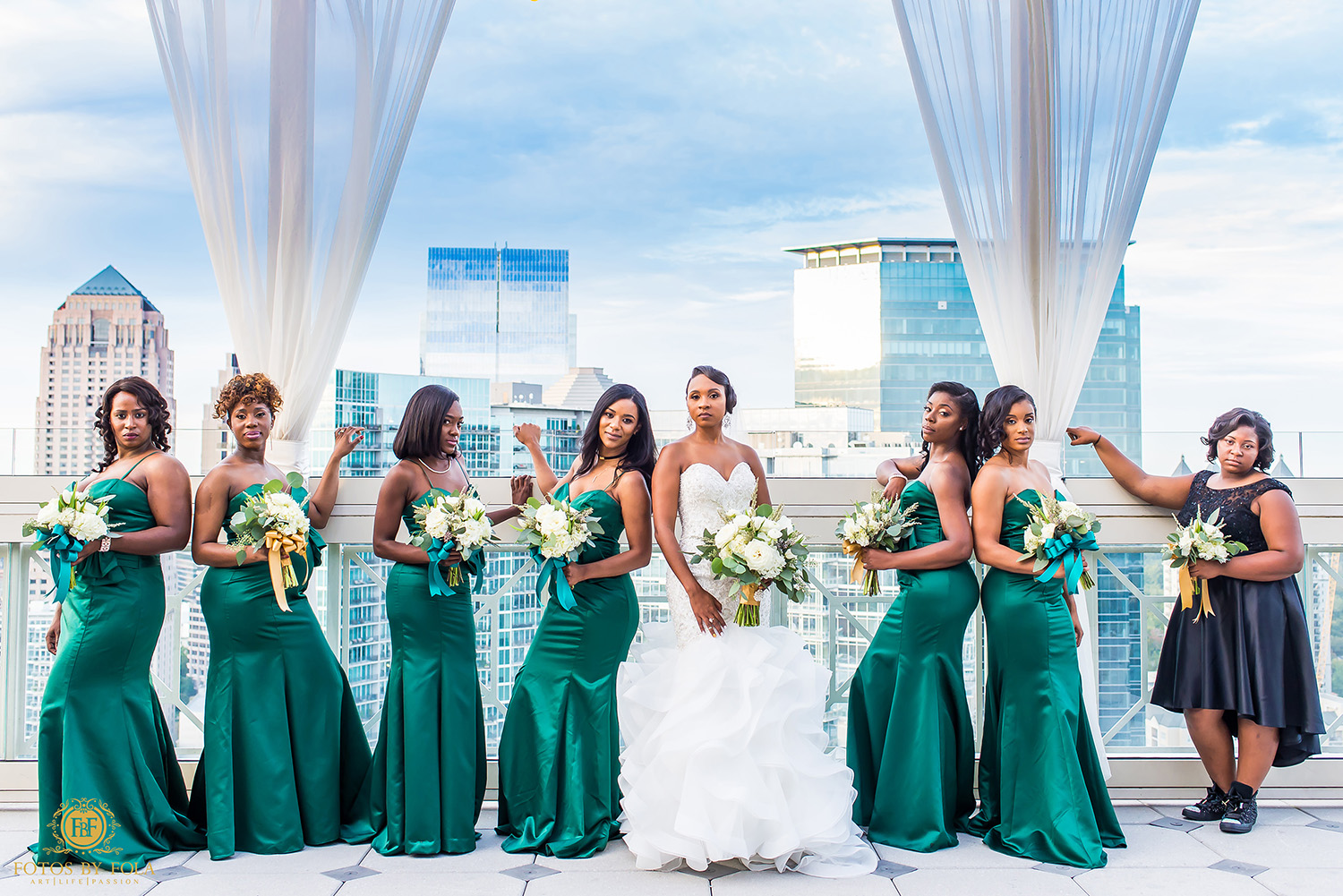 8. Fotos by Fola | Atlanta Wedding Photographer | Peachtree Club Wedding