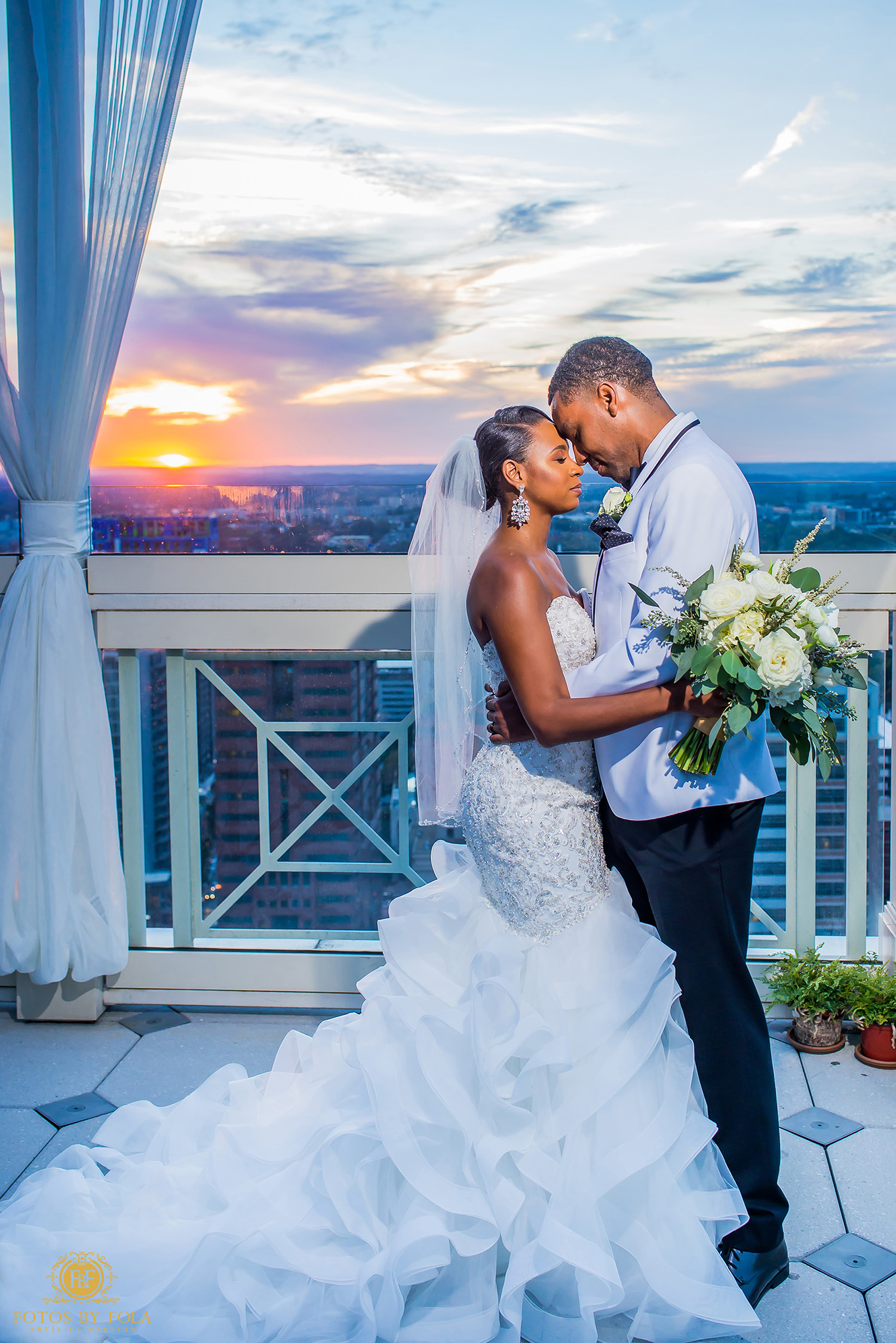 6. Fotos by Fola | Atlanta Wedding Photographer | Peachtree Club Wedding
