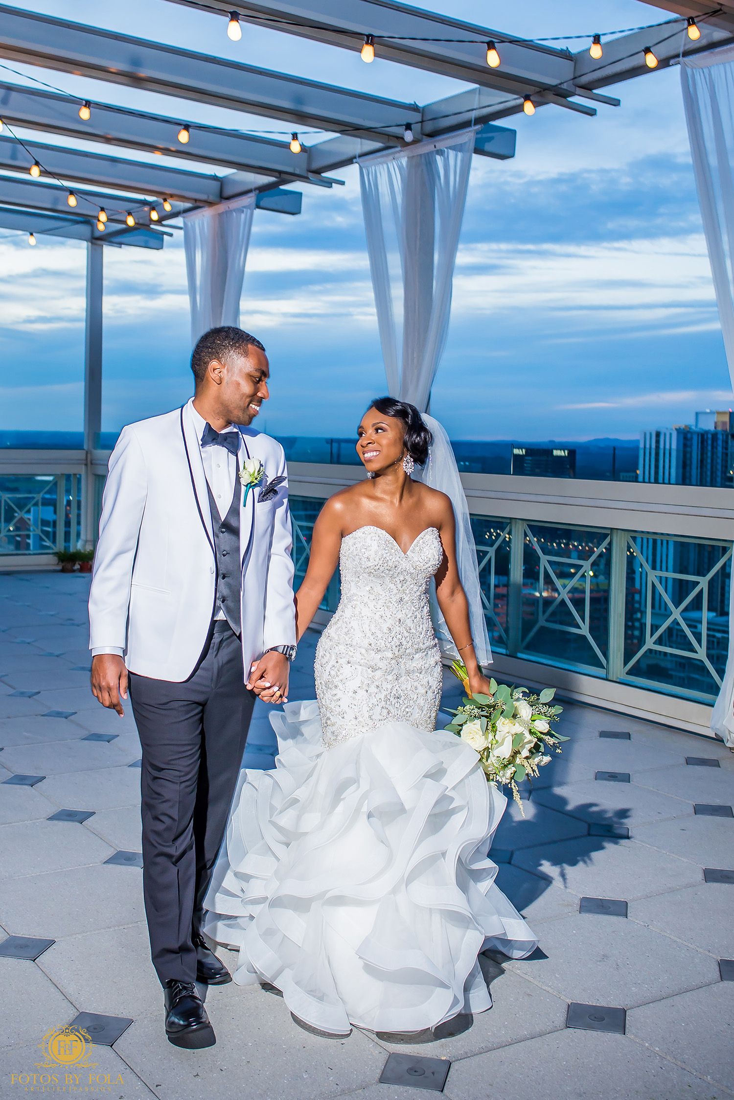 4. Fotos by Fola | Atlanta Wedding Photographer | Peachtree Club Wedding