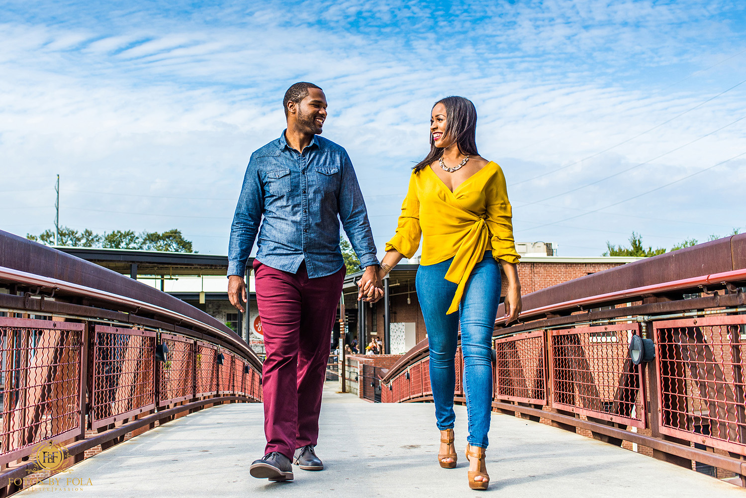 Fotos by Fola | Westside Provisions District | Jennie's Ice cream | Engagement Shoot | Atlanta Wedding Photographer