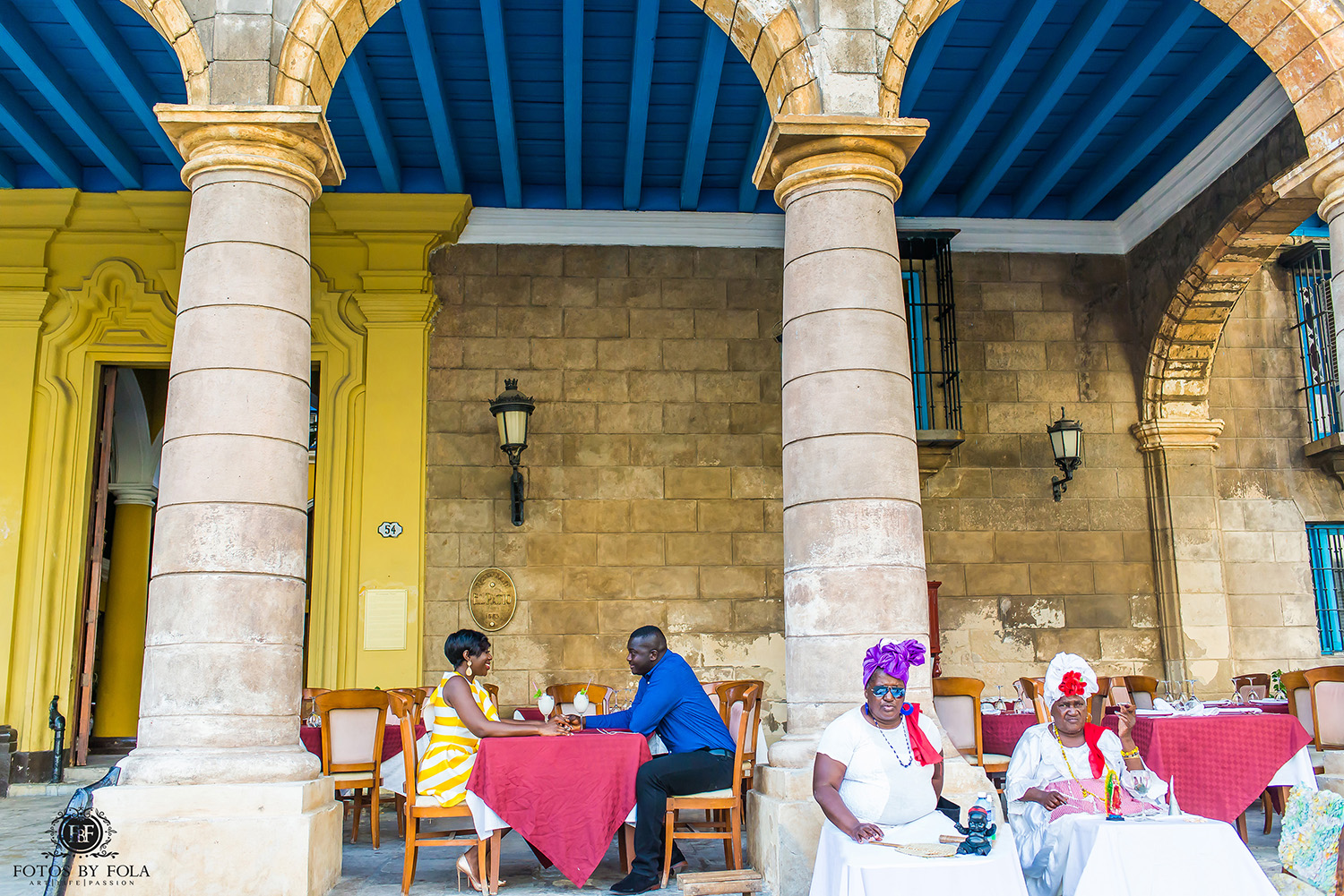 Fotos by Fola | Atlanta Wedding Photographer | Destination Wedding Photographer | Havana Cuba Engagement Shoot | La Guarida | Havana Cathedral | Santa María | Ciudad De La Habana | Cuba | Old Havana